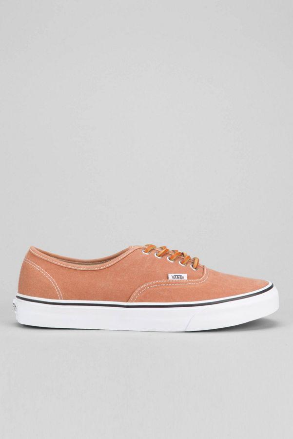 6385eec56fd334 Vans Authentic Brushed Twill Men s Sneaker