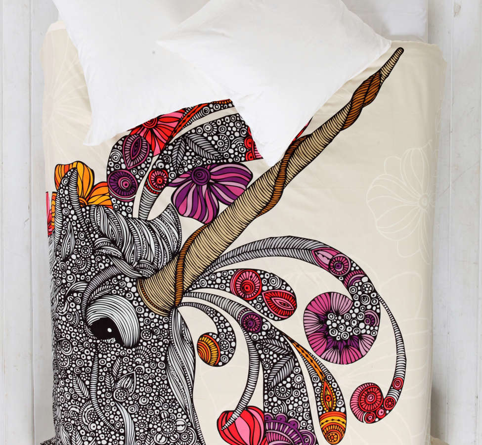 Slide View: 1: Valentina Ramos For DENY Unicornucopia Duvet Cover