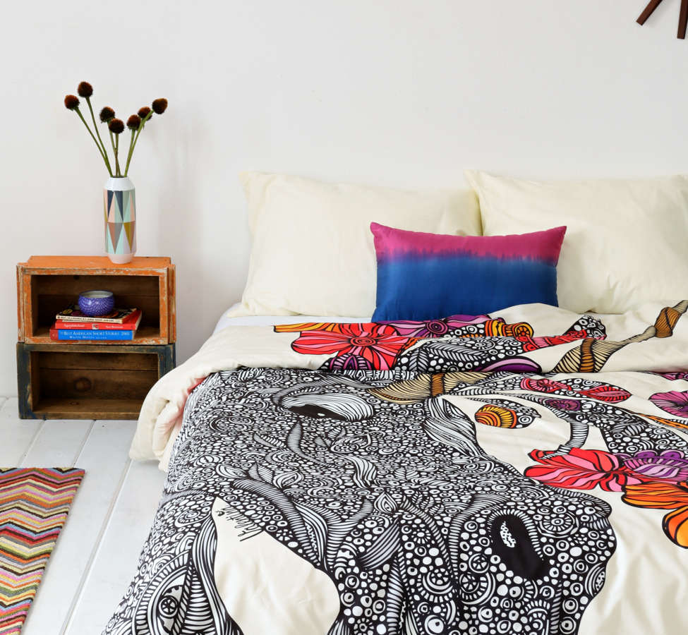 Slide View: 2: Valentina Ramos For DENY Unicornucopia Duvet Cover