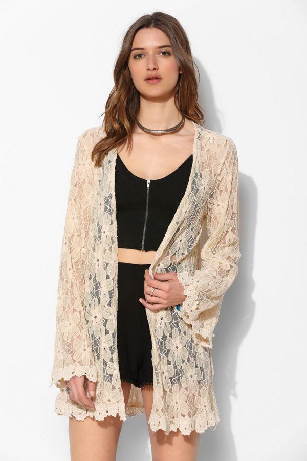 ed9cc640a91f1 Love Sadie Lace Bell-Sleeve Kimono Jacket