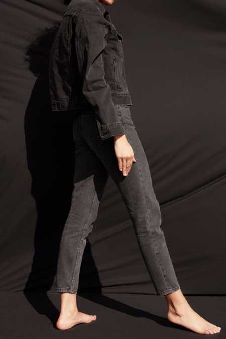 Slide View: 7: BDG Mom Jean - Black