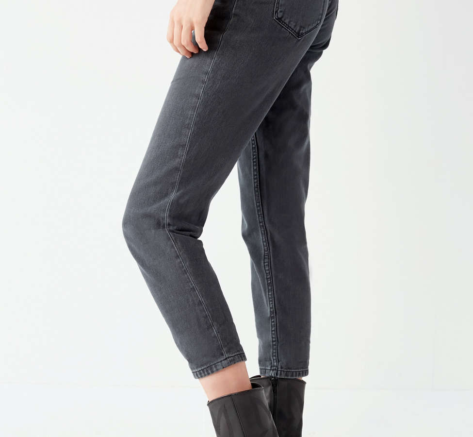 Slide View: 4: BDG Mom Jean - Black