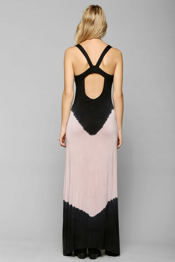 Staring At Stars Tie Dye Lounge Maxi Dress Urban Outfitters