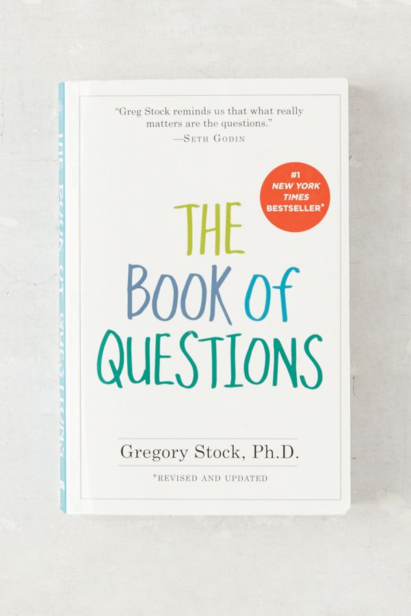 The Book Of Questions By Gregory Stock PhD