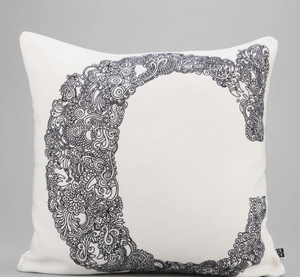 Slide View: 1: Martin Bunyi For DENY Isabet C Pillow
