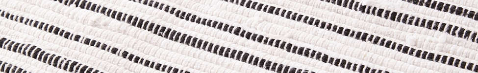 Thumbnail View 3: Connected Stripe Rag Rug