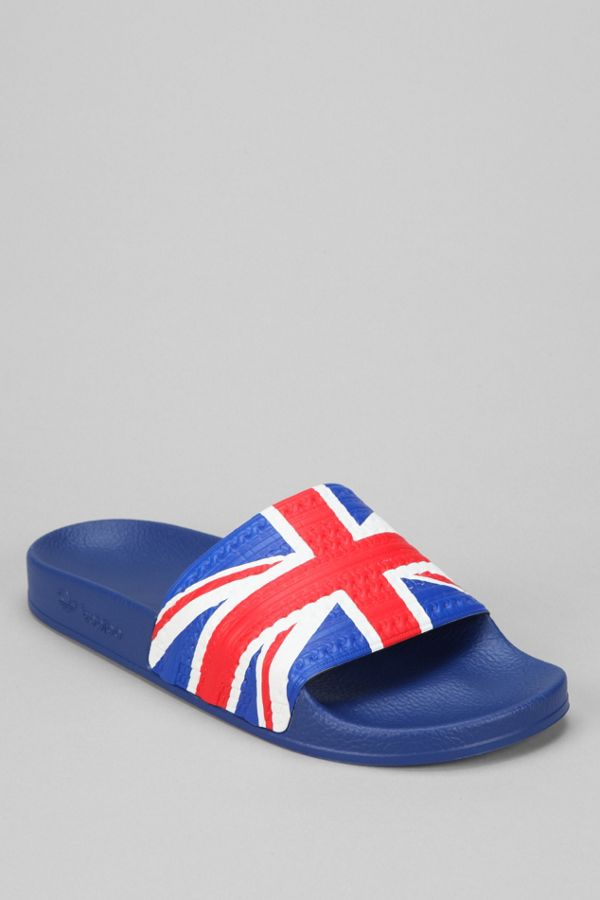 a64f44f60 ... get slide view 2 adidas originals adilette flag slide on sandal c6a07  2a8c3