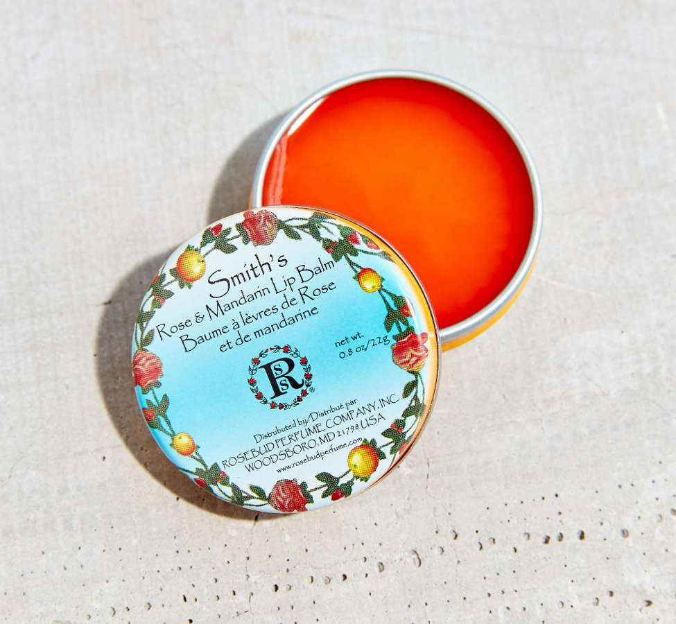 Slide View: 1: Smith's Rose & Mandarin Lip Balm Tin