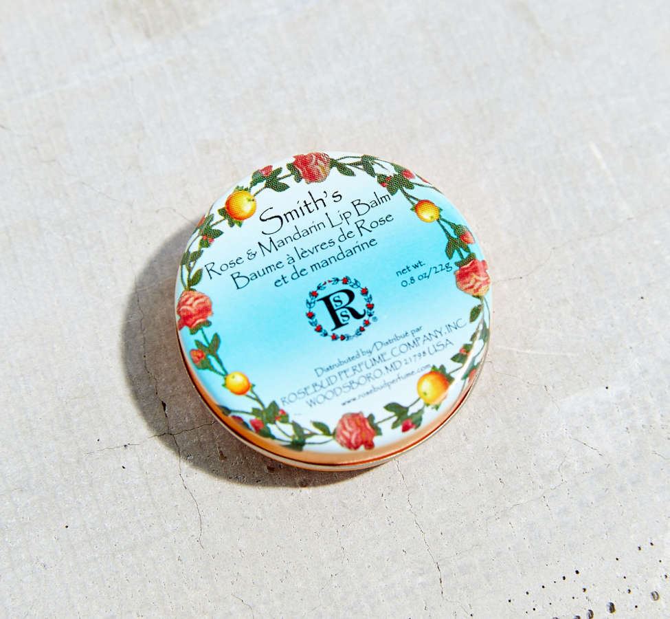 Slide View: 3: Smith's Rose & Mandarin Lip Balm Tin