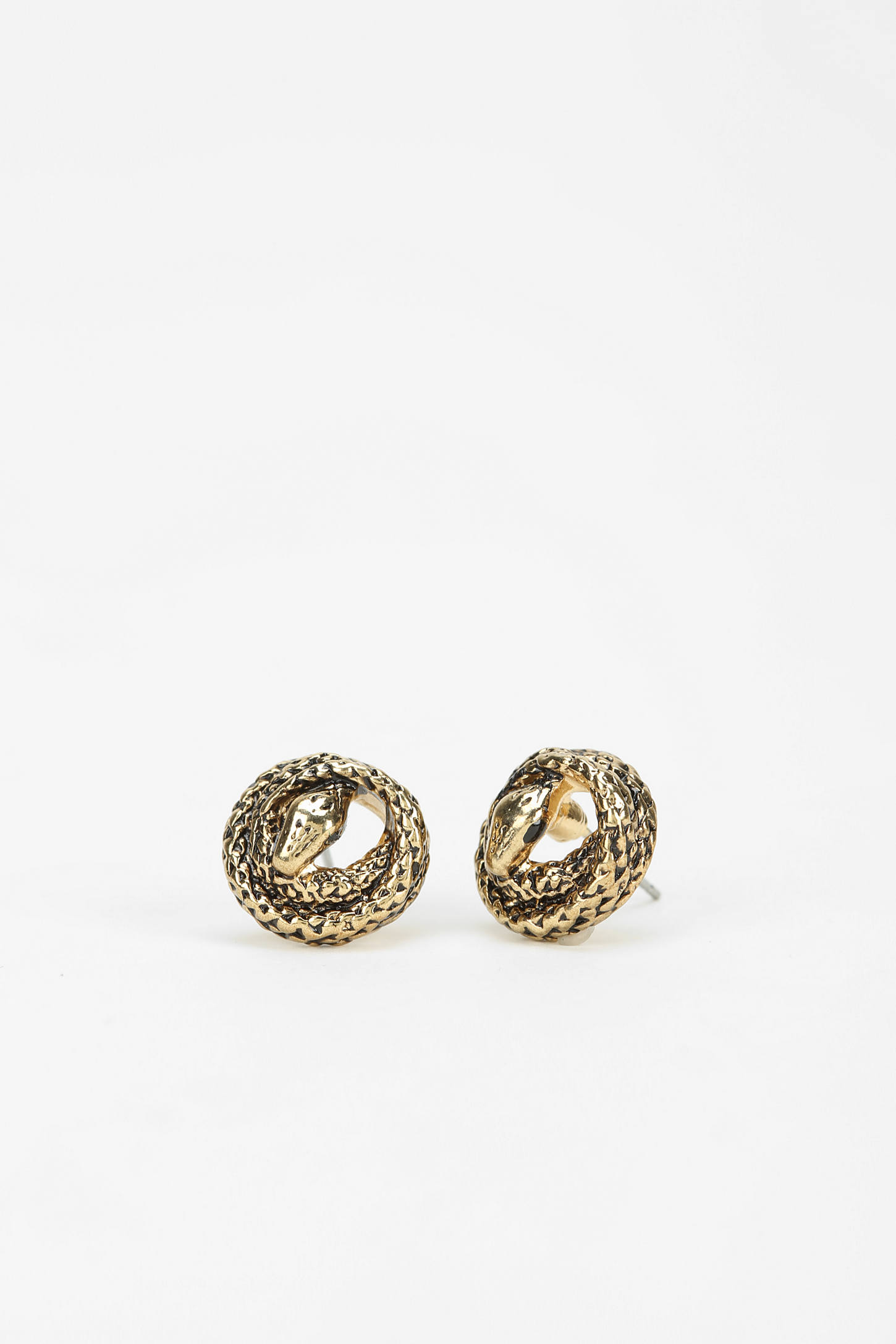 Jenny Bird Serpent Stud Earring