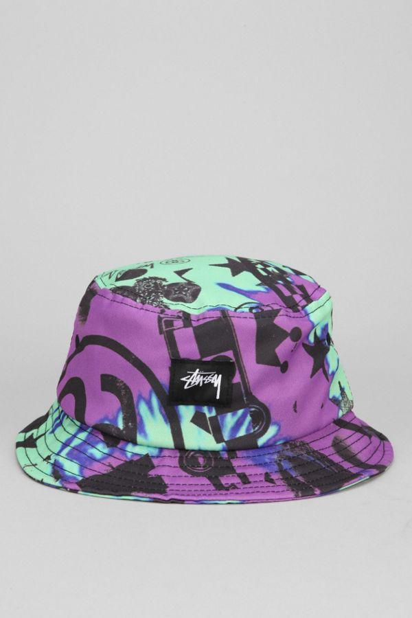 Stussy Tie-Dye Bucket Hat  6a31fc74a9c
