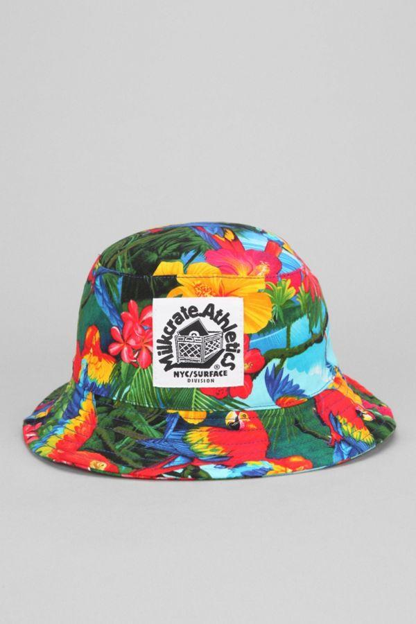 a14b9460f9b Milkcrate Athletics Tropical Bucket Hat
