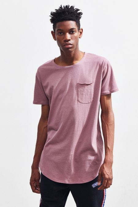 UO Scoop Neck Curved Hem Tee a7a59647234