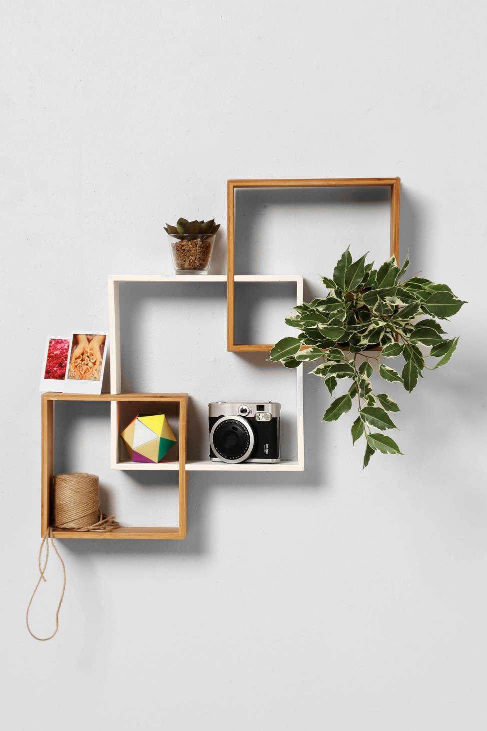 cube wall shelving ideas