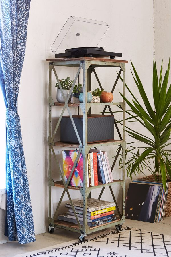 Your Urban Outfitters Gallery Factory Rolling Bookcase