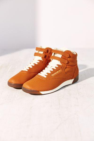 Reebok Freestyle Hi Exotic High-Top Sneaker