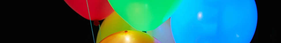 Thumbnail View 1: Colorful Light-Up LED Balloon 15-Pack Set