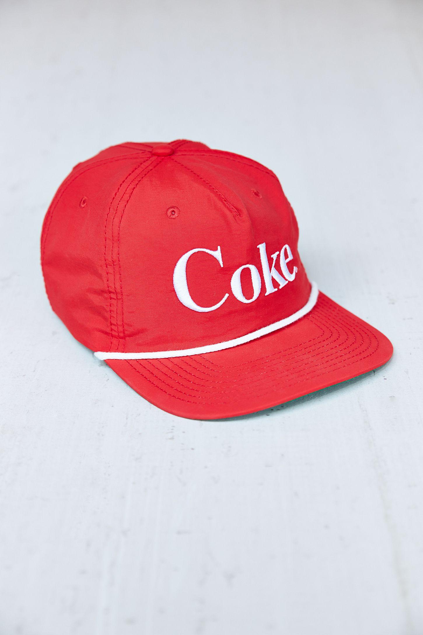 Coke Snapback Hat  703d616cbd6