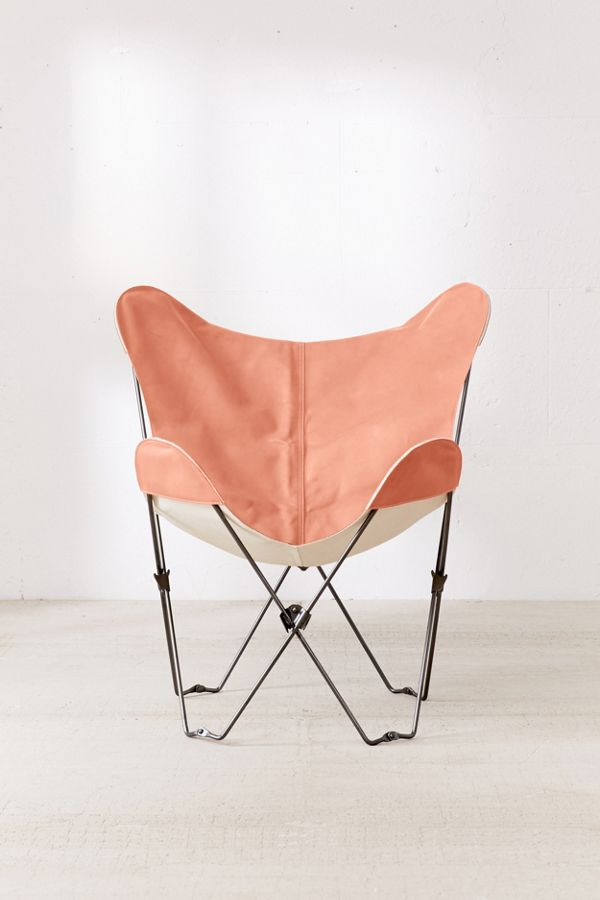 leather butterfly chair cover urban outfitters. Black Bedroom Furniture Sets. Home Design Ideas