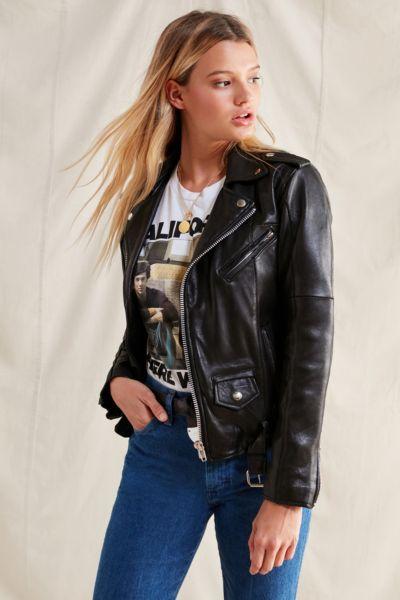 PeleCheCoco Leather Moto Jacket
