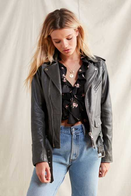 PeleCheCoco Leather Moto Jacket