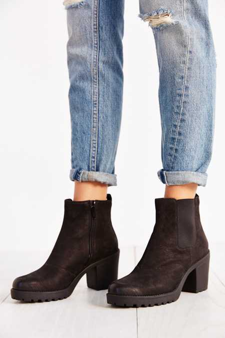 Vagabond Grace Platform Leather Ankle Boot