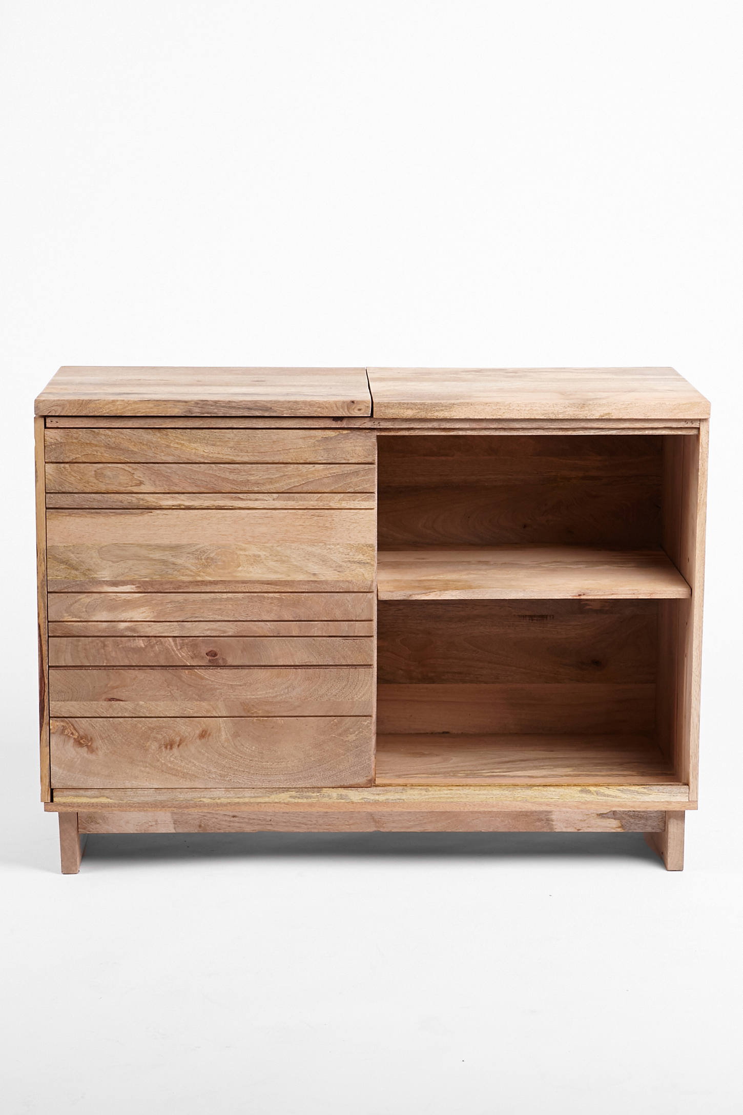 Short Media Cabinet Wooden Media Console Urban Outfitters