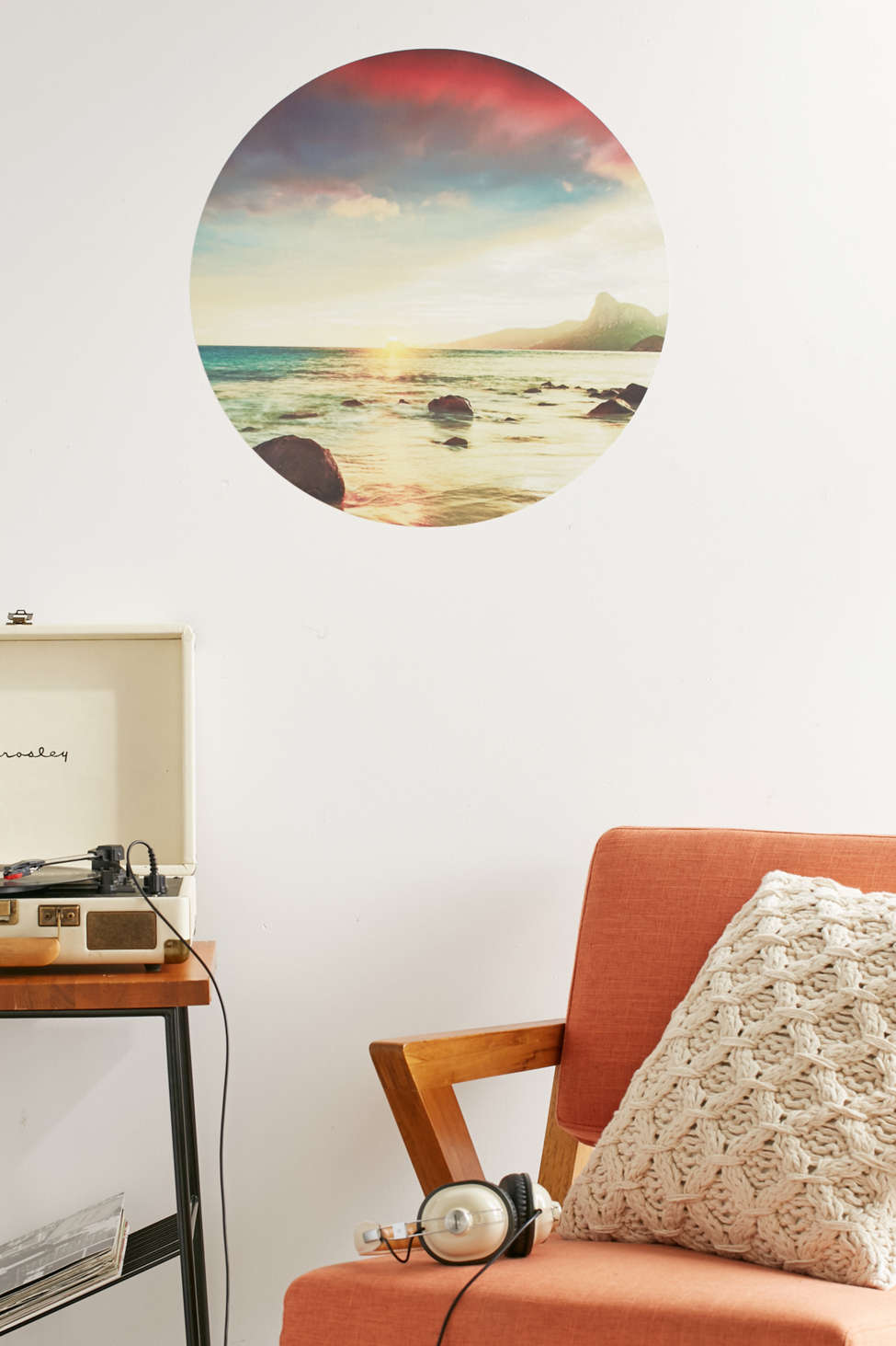 Walls Need Love Sunset Beach Wall Decal Urban Outfitters