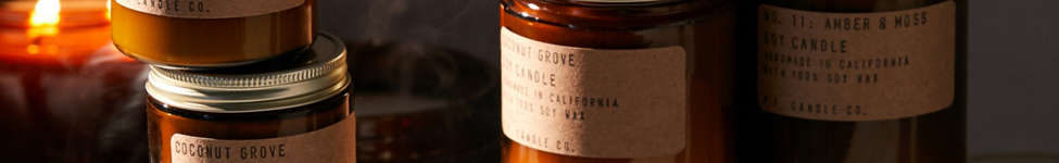 Thumbnail View 1: P.F. Candle Co. Amber Jar Soy Candle