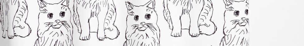 Thumbnail View 1: Allyson Johnson For Deny Cat Obsession Shower Curtain