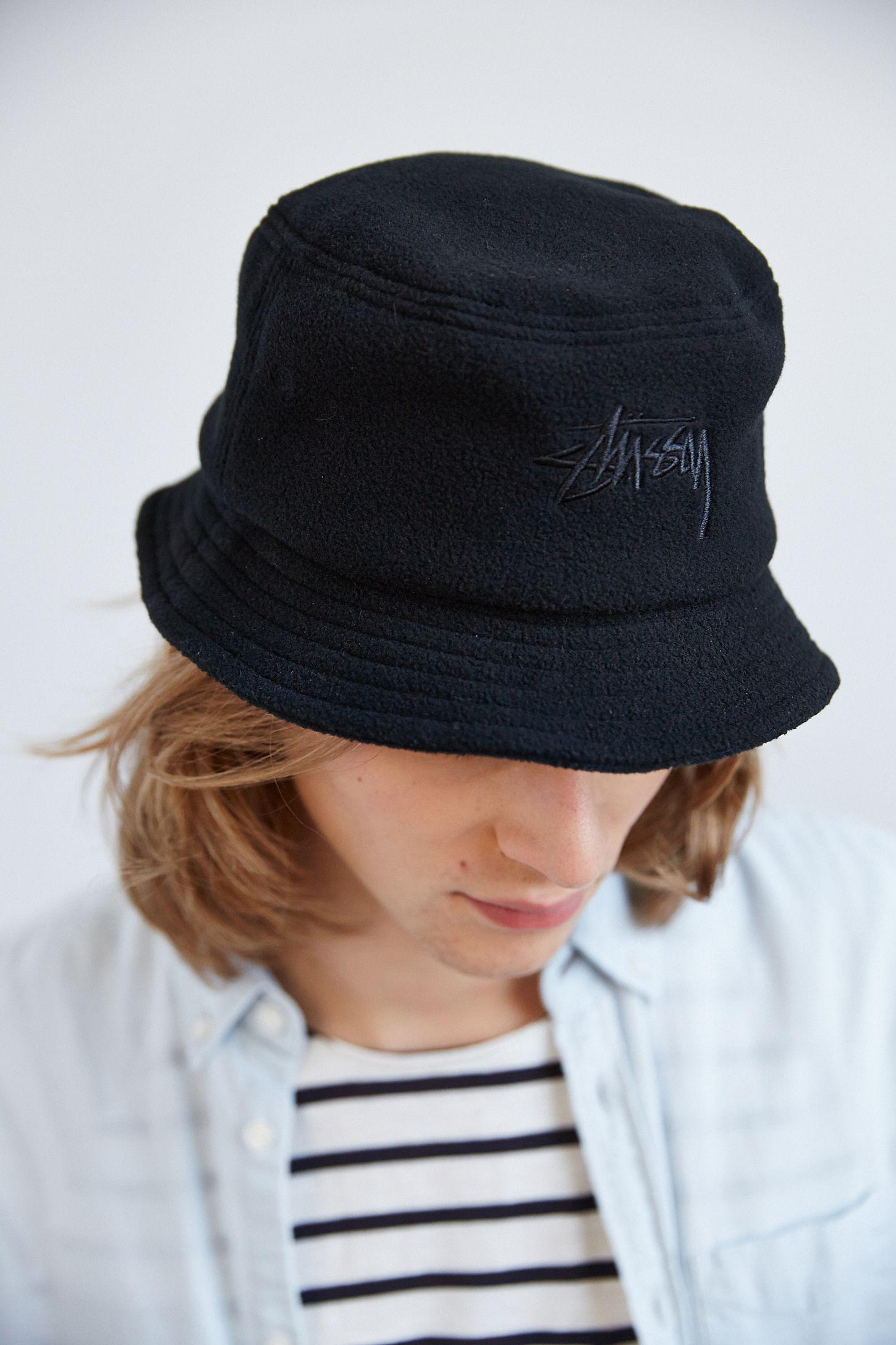 Stussy X UO Polar Fleece Bucket Hat  77b8bebe5be