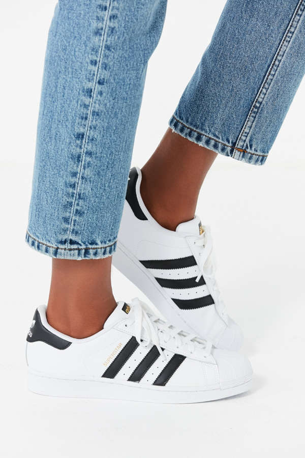 Womens Adidas Superstar Ii Shoes White Red Hot Sale Online