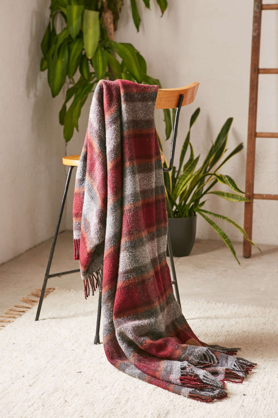 Slide View: 1: Pendleton Motor Robe Throw Blanket