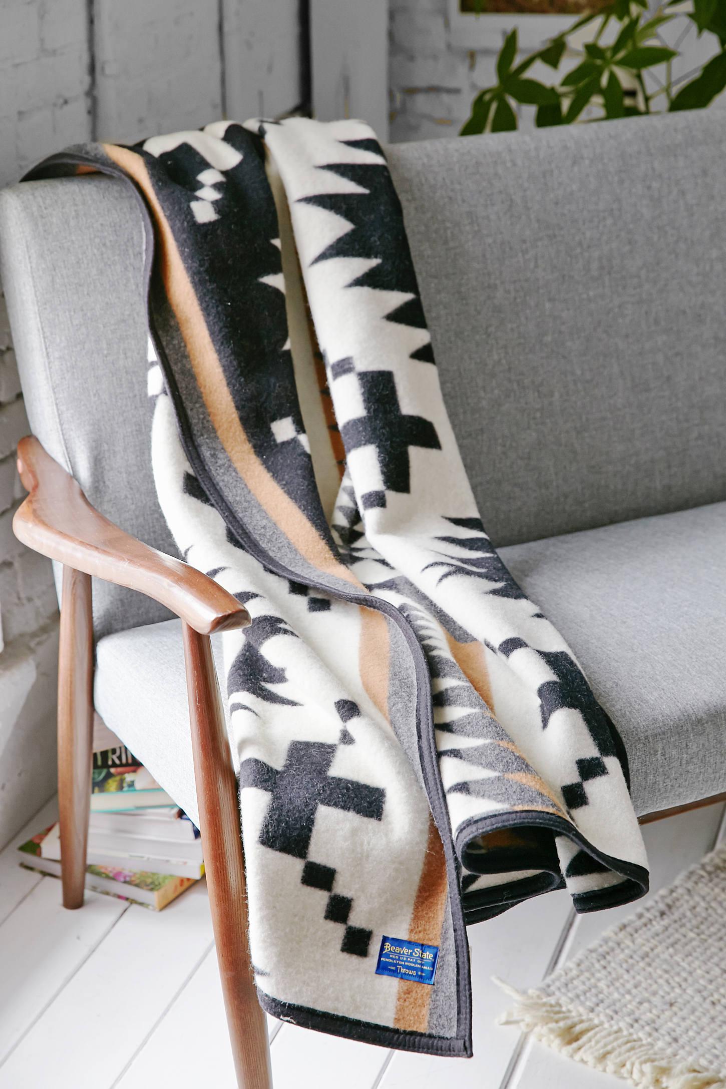 Pendleton Spider Rock Throw Blanket Urban Outfitters