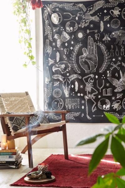 4040 Locust Tattoo Tapestry