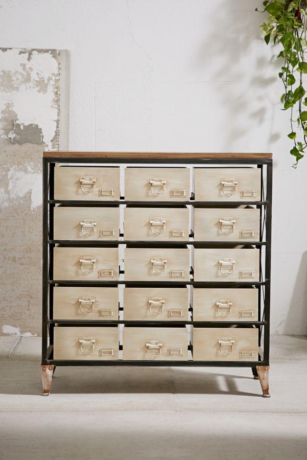 Slide View: 1: Industrial Storage Dresser