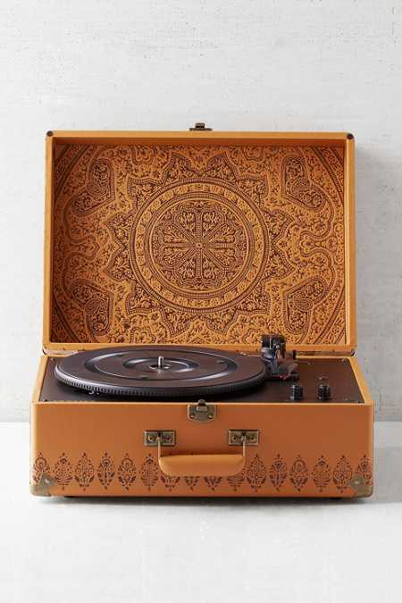 Crosley X UO Keepsake Embossed Portable USB Vinyl Record Player