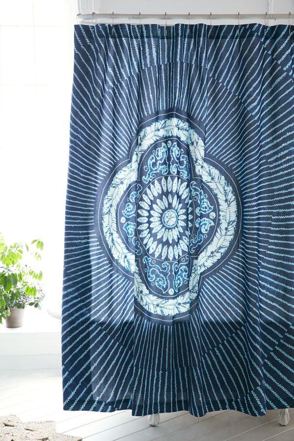 Magical Thinking Neela Batik Shower Curtain