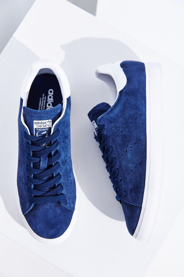 Slide View  1  adidas Originals Stan Smith Vulc Suede Sneaker 411d72193