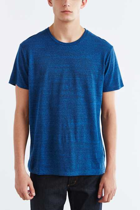 BDG Standard-Fit Tri-Blend Crew Neck Tee