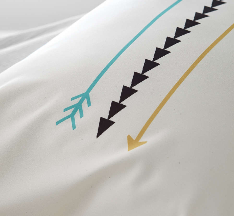 Slide View: 2: Allyson Johnson For Deny Minimal Arrows Pillowcase Set
