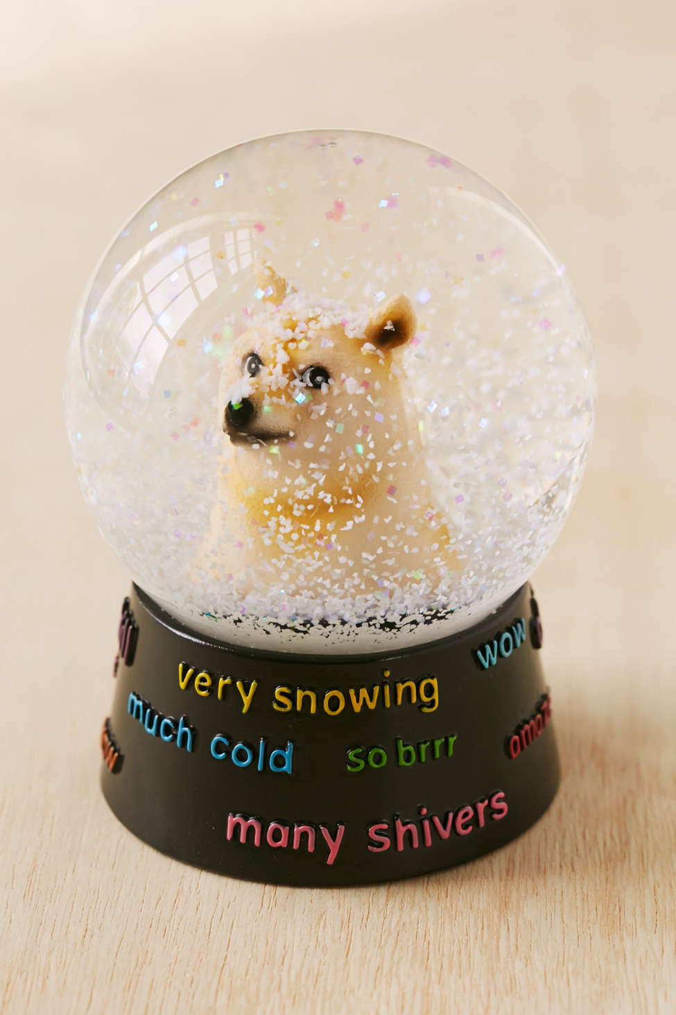 Doge Snowglobe Urban Outfitters
