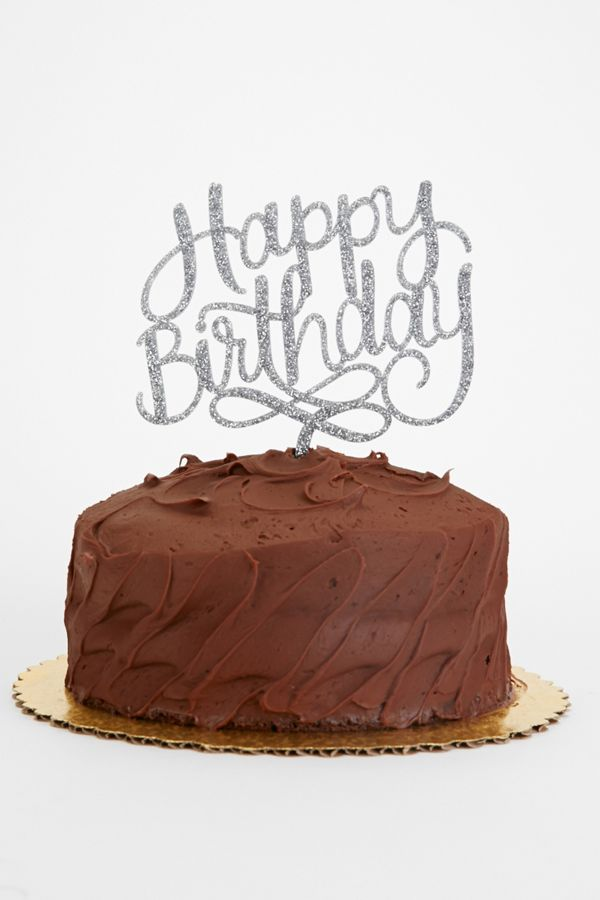 alexis mattox design happy birthday cake topper urban outfitters