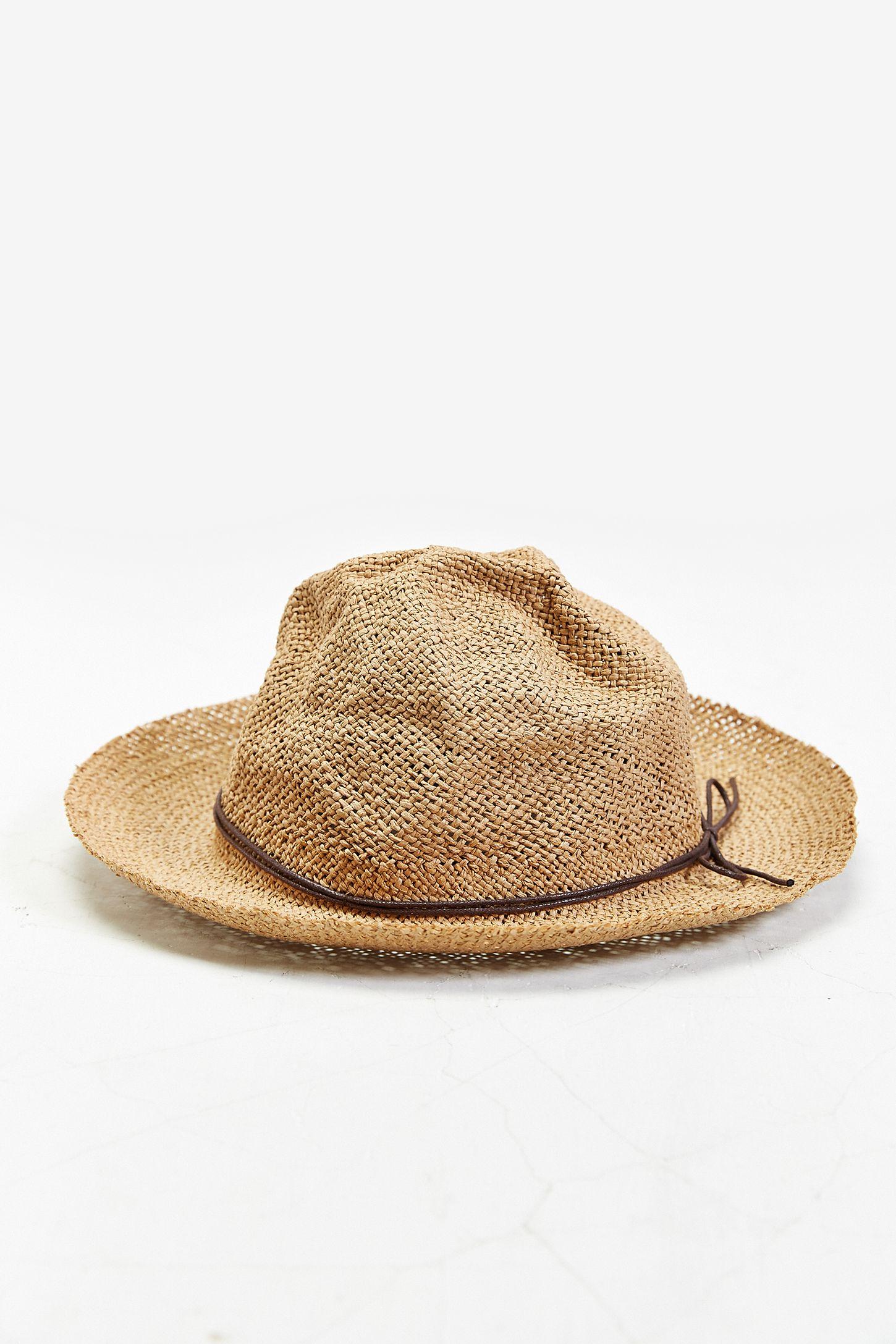 884808b46fe42 Rosin Overturned Brim Straw Hat