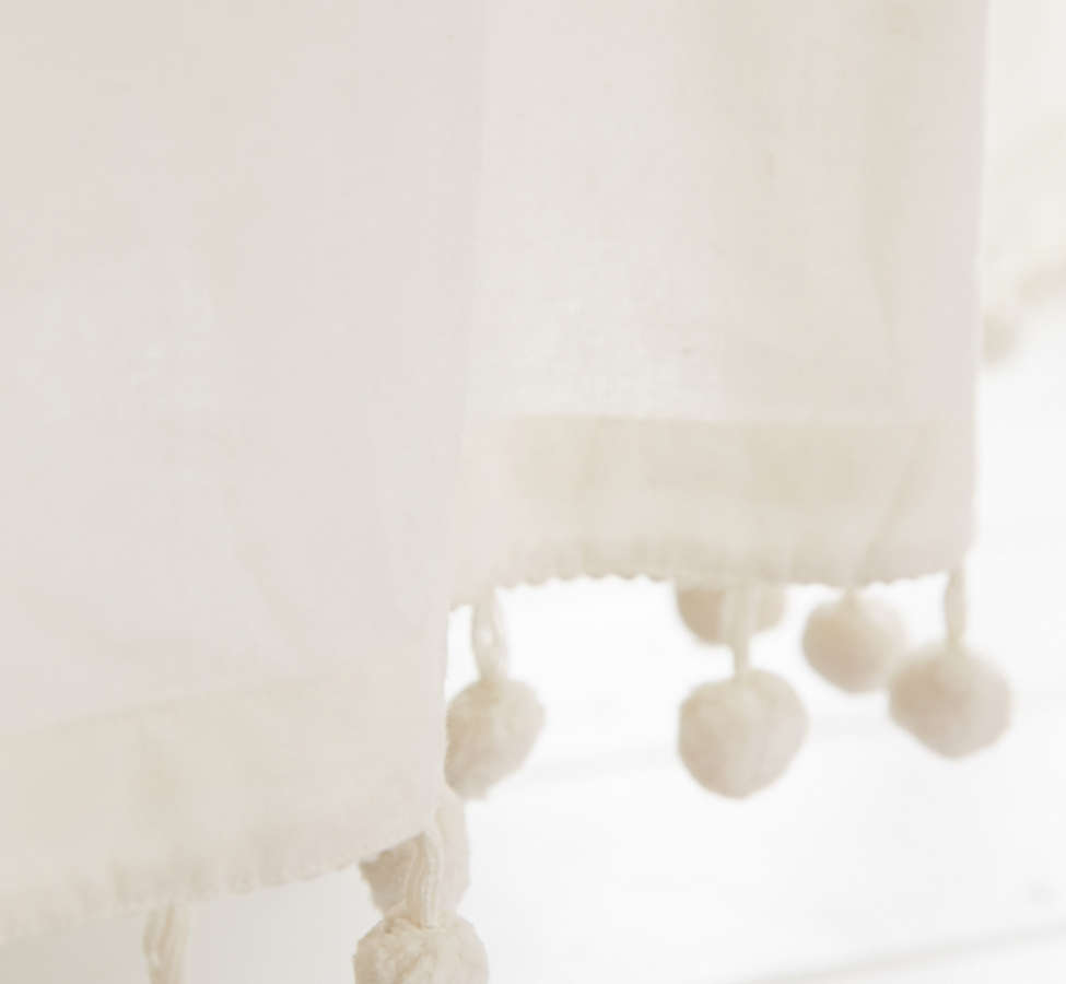 Slide View: 2: Magical Thinking Pompom Shower Curtain