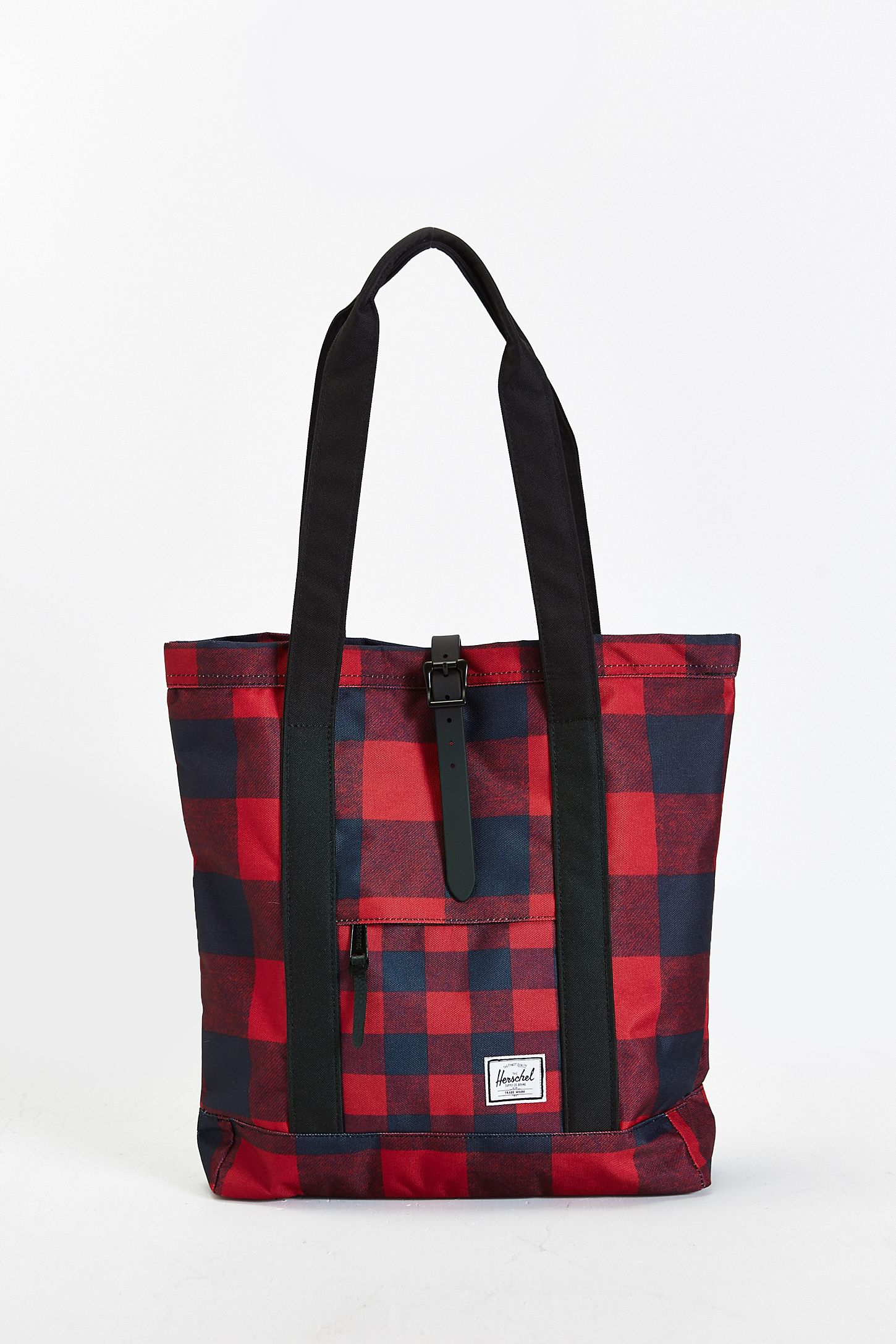 8a6520f6d70 Herschel Supply Co. Buffalo Plaid Market Tote Bag   Urban Outfitters ...