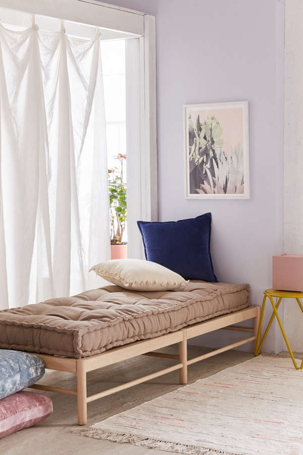 Rohini daybed cushion urban outfitters Urban outfitters bedroom lookbook