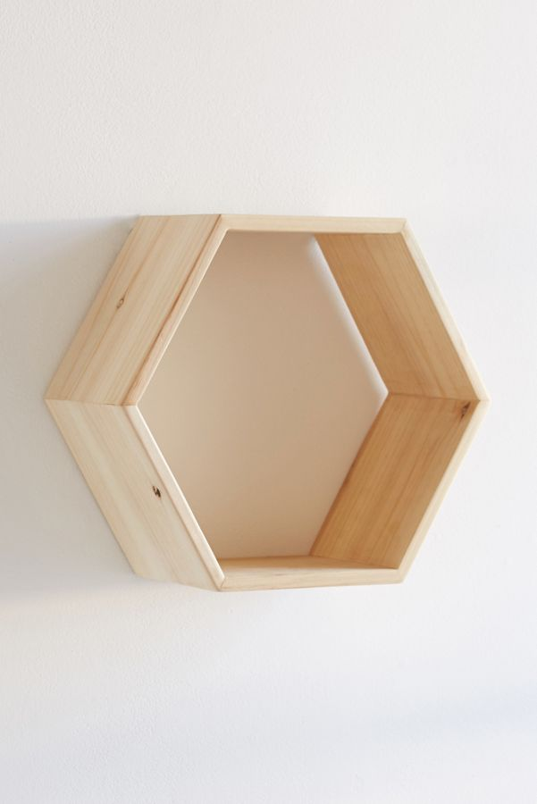 Honeycomb Wood Shelf | Urban Outfitters - photo#4