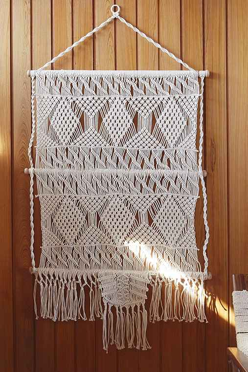 macrame wall hanging outfitters magical thinking tiva macrame wall hanging outfitters 6531