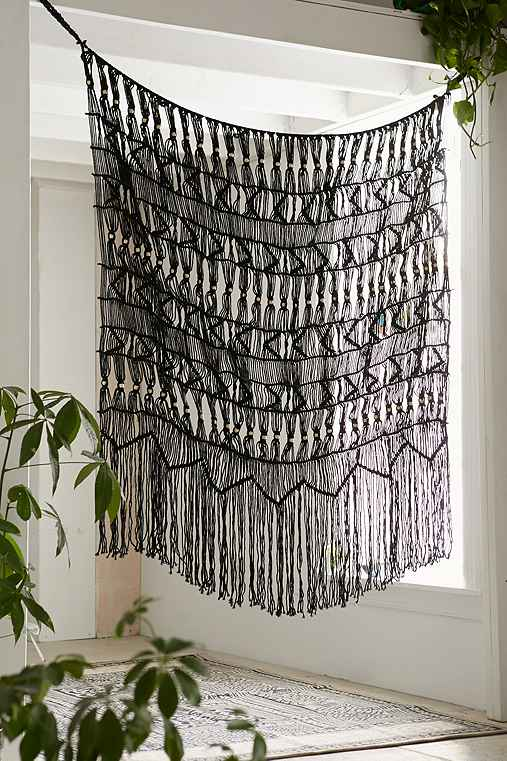 macrame wall hanging outfitters magical thinking kushi macrame wall hanging outfitters 1240